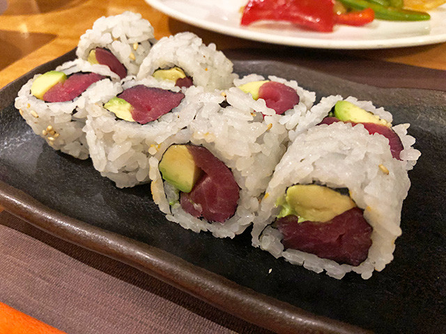 Tuna-Avocado Maki