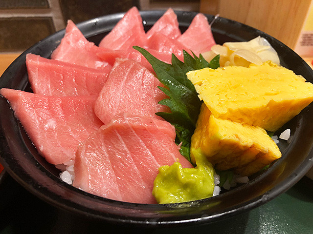 Medium Fatty Tuna Sashimi RiceBowl
