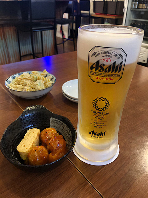 Draft Beer and Appetizer