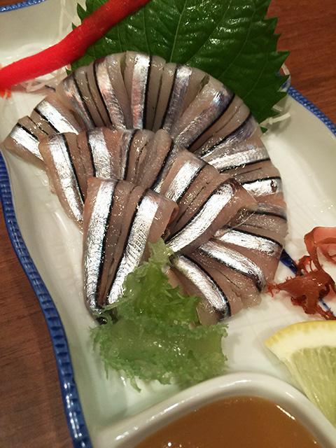 Banded Blue-Sprat Sashimi