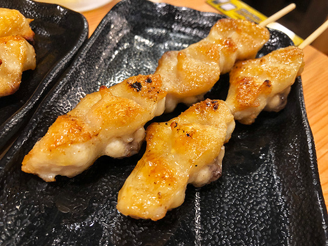Grilled Skewered Chicken Tail
