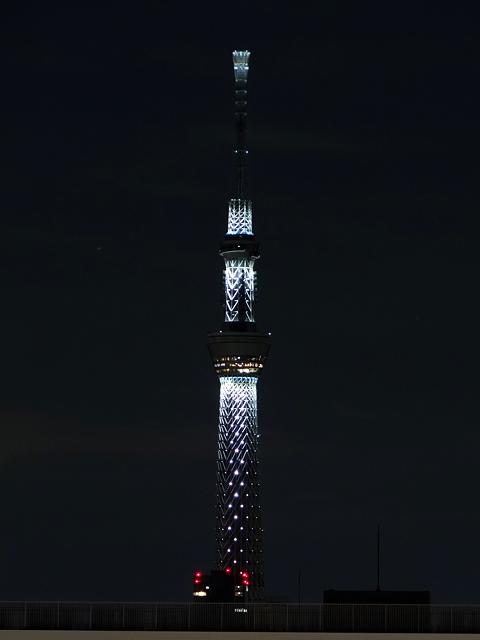 Illuminated TOKYO SKY TREE