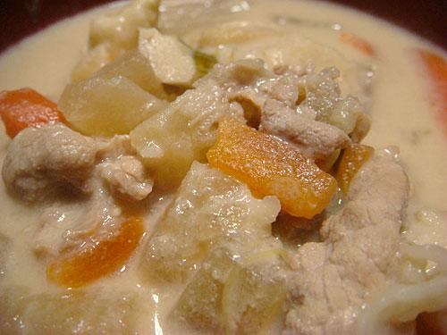Sake Lees Soup