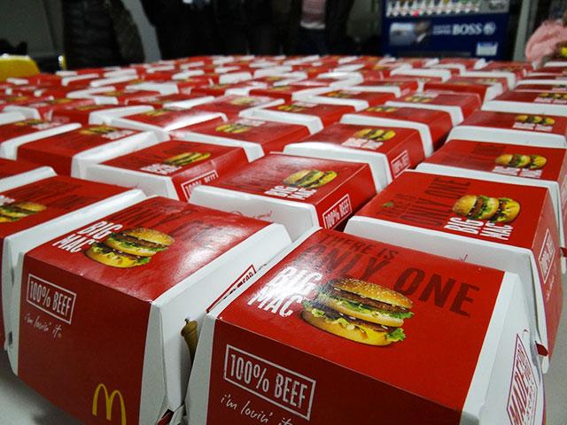 100 BIG MACs