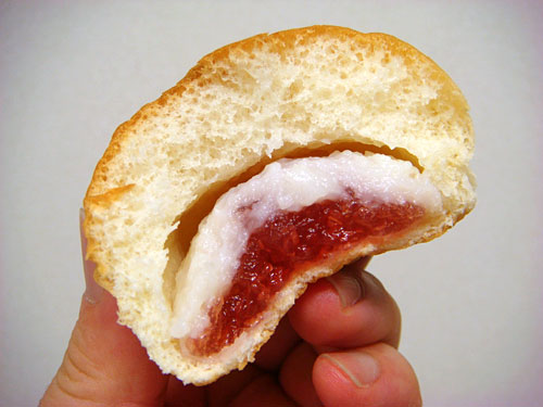 Strawberry Jam and Condensed Milk Bread