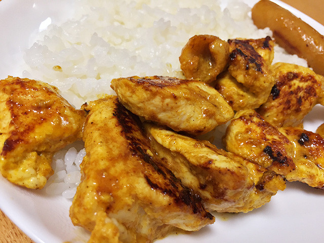 Tandoori-Style Pan-Fried Chicken