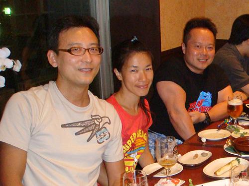 Yuki-don, Tequila-san, and Dr. MaCHO