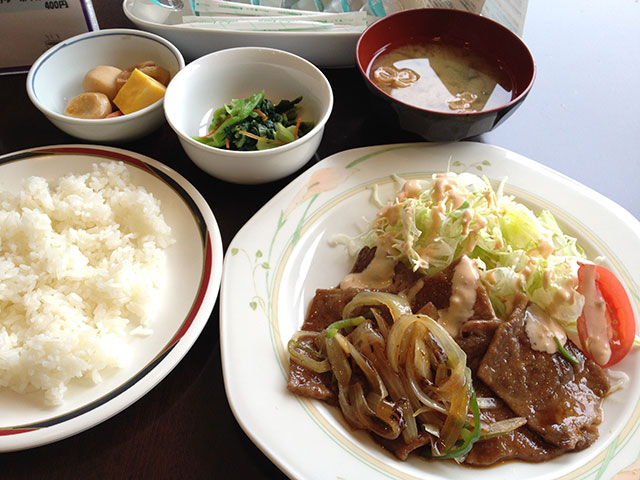 Yakiniku Lunch