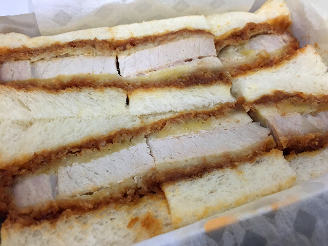 Pork Cutlet Sandwich