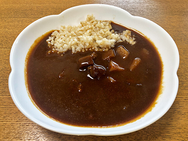 Beef Curry with Brown Rice