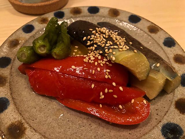 Deep-Rried Eggplant in Japanese Broth