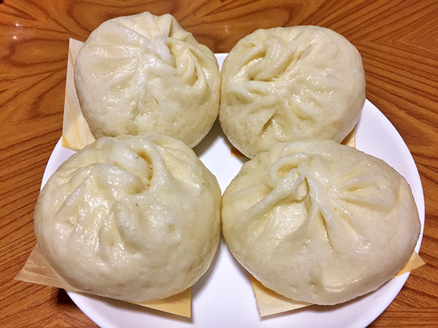 Steamed Buns with Pork Filling