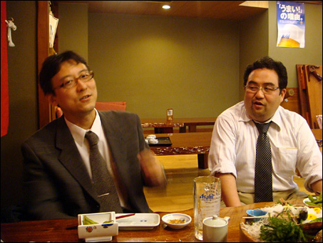 Mr. Yuki and Mr. gaku