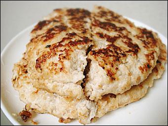 鶏胸肉ハンバーグ