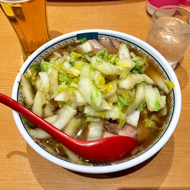 Kamukura Ramen with Roast Pork and Chinese Cabbage
