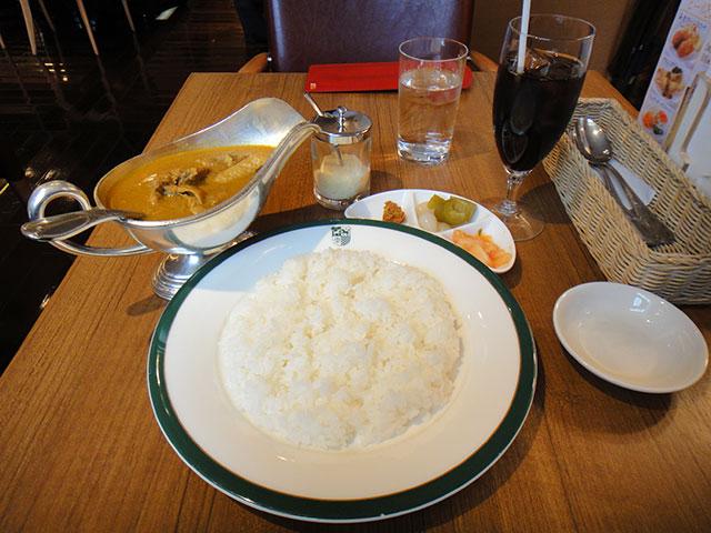 Chicken Curry of Shinjuku Nakamuraya
