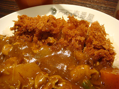 Half Order Pork Tenderloin Cutlet Curry