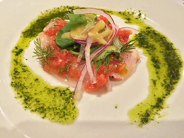 Carpaccio of Alfonsino
