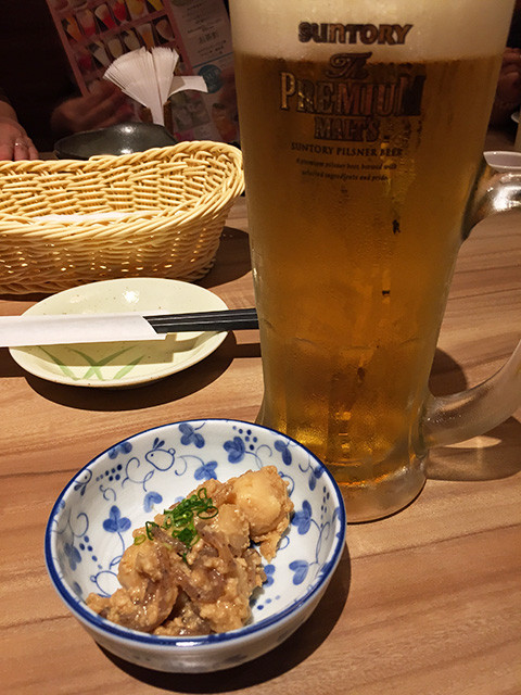 Appetizer and Beer