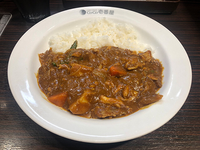 Small Beef Curry with Stewed Chicken and Vegetables