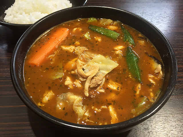 Soup Curry with Double Stewed Chicken