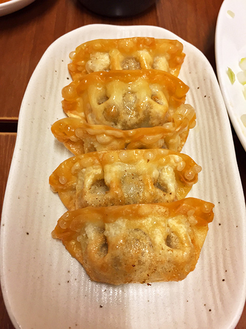 Deep-Fried Gyoza