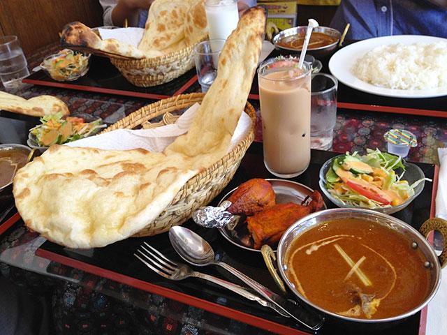 E Set with Tandoori Chicken