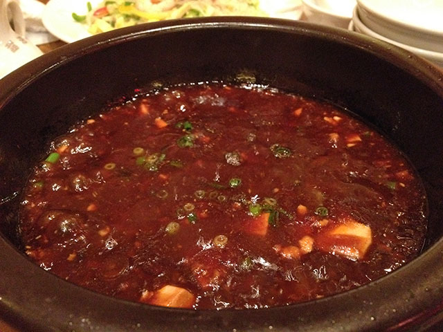 Mapo Tofu in Donabe Clay Pot