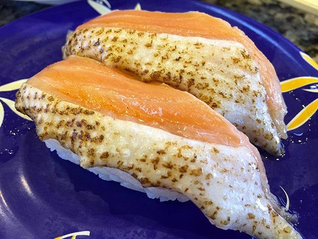 Broiled Salmon Nigiri Sushi