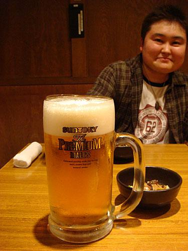 Large Jug of Draft Beer