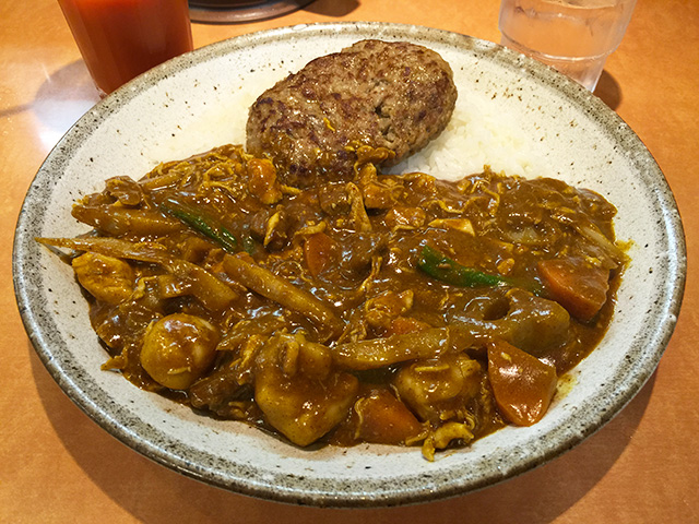Steamed Chicken and Root Vegetable Curry in Japanese Style
