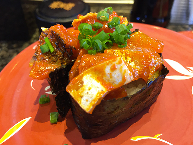 Seafood Gochujang Gunkan-Maki