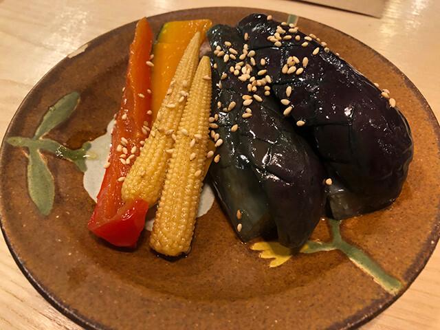 Eggplant Agebitashi