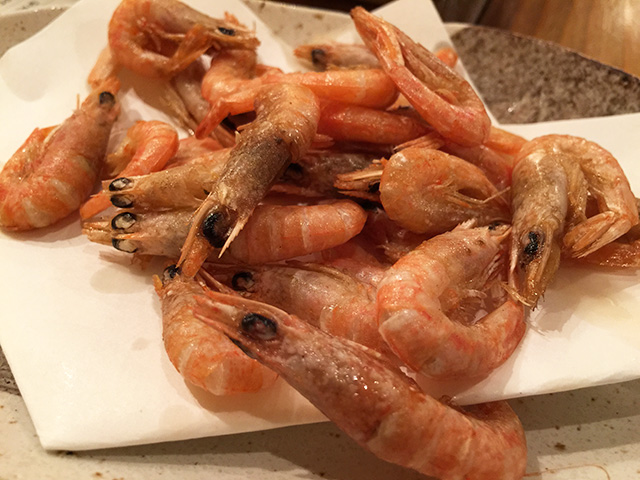 Deep-Fried Shrimps