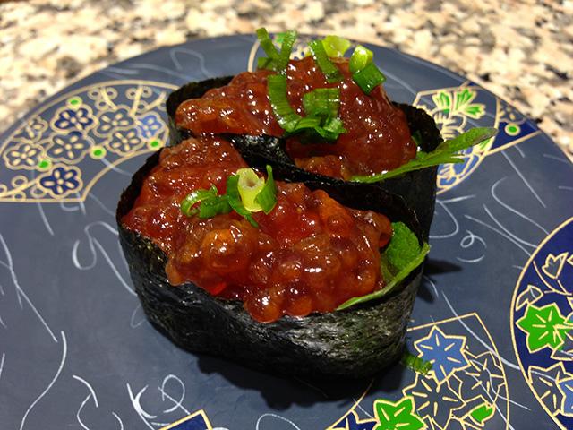 Salmon Roe Gunkan-Maki