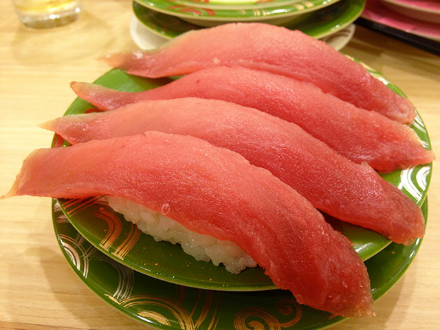 Red Tuna Nigiri Sushi