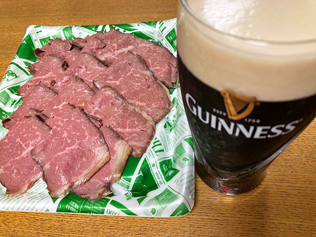 Roast Beef and GUINNESS
