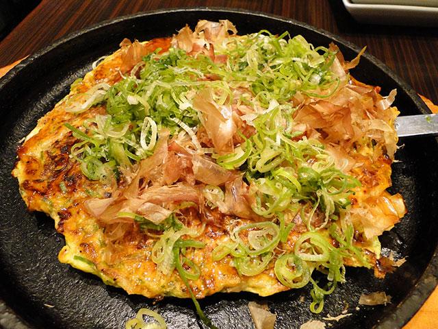 Osaka-Style Negi Okonomiyaki
