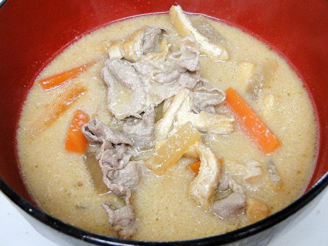Pork Sake Lees Soup