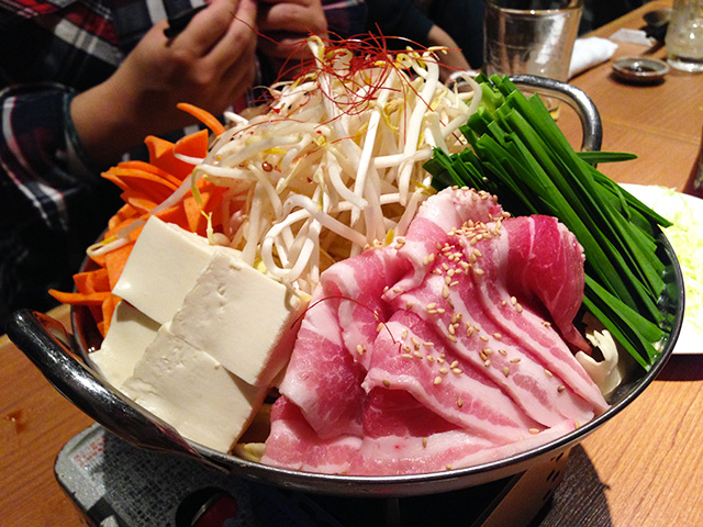 Pork Hot Pot