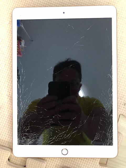 Crushed iPad