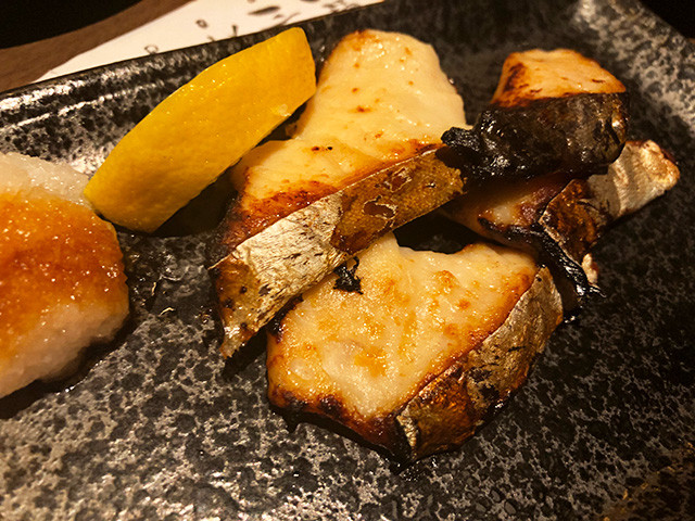 Grilled Japanese Spanish Mackerel with Saikyo Miso