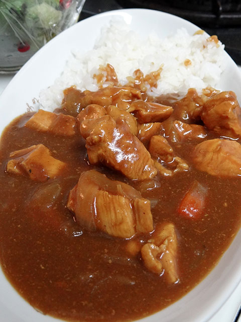 Homemade Low Fat Chicken Curry