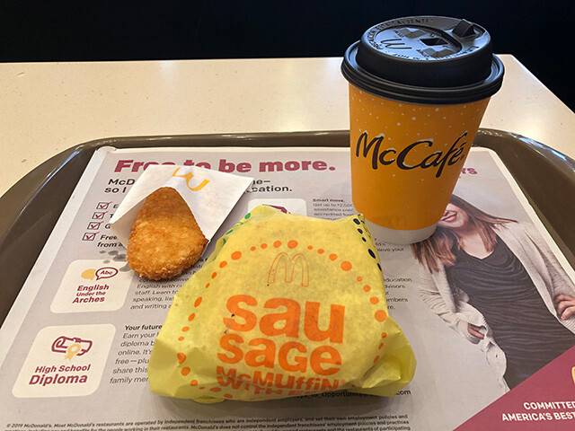 Sausage McMuffin Meal