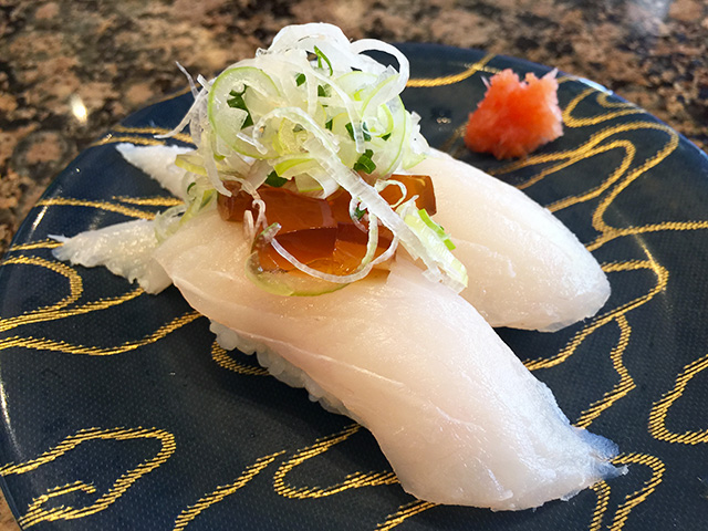 White-Fleshed Fish Nigiri Sushi