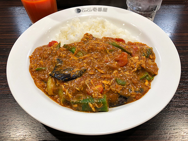 4th Chicken and Summer Vegetables Curry