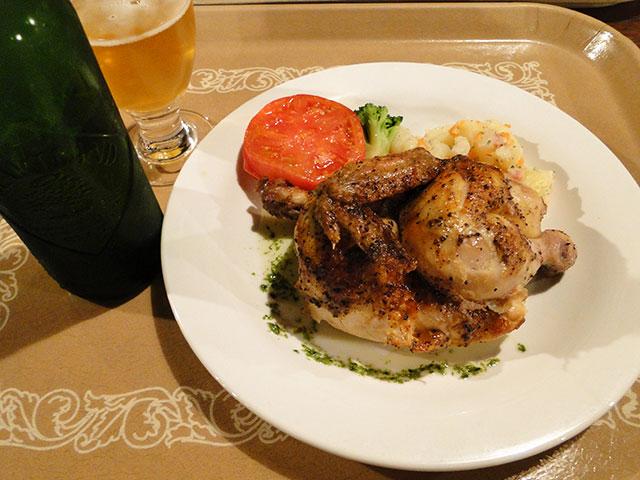 Rotisserie Chicken with HEARTLAND