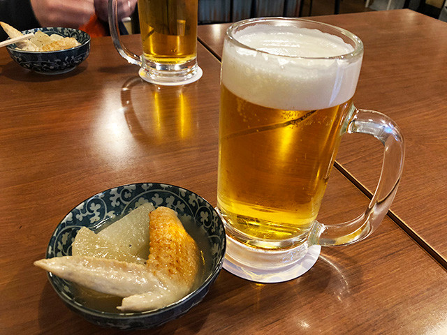 Beer and Appetizer