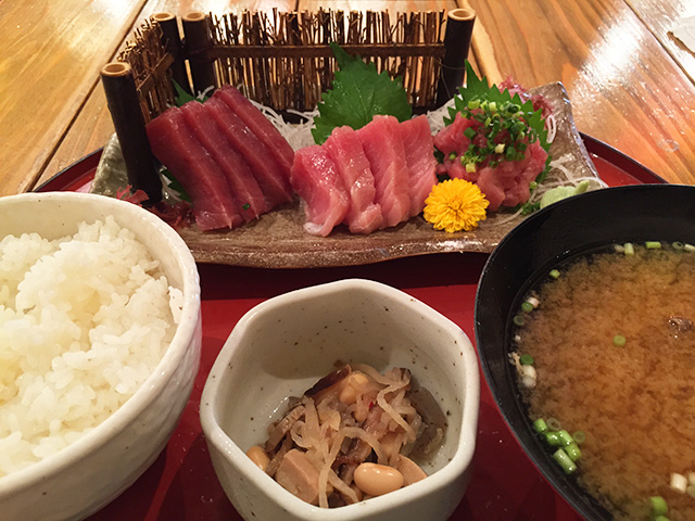 All Kinds of Tuna Set Meal
