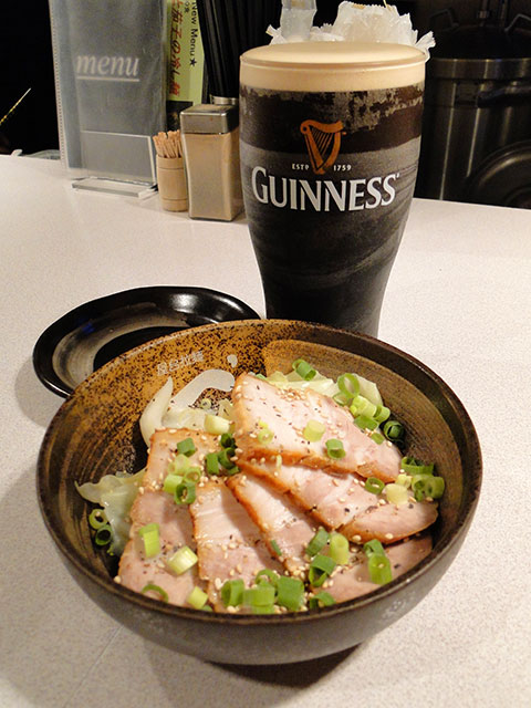 GUINNESS with Roast Pork